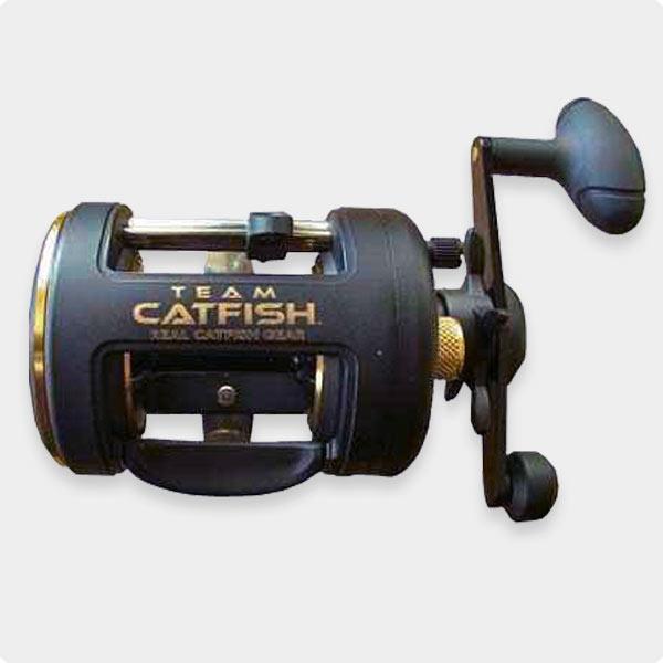 catfish reel team catfish gold ring 400 casting reel