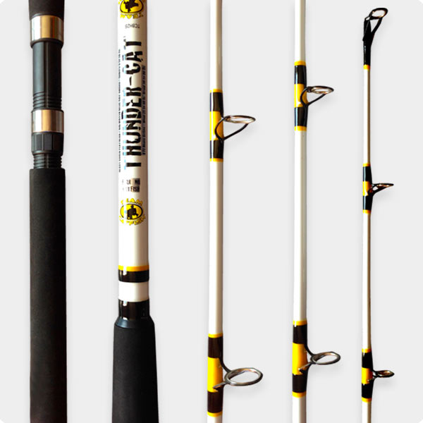 Catfish rods professional grade catfish rods under 100 for Top 10 fishing rods