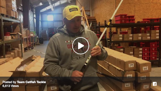 Thunder Cat Catfish Rods