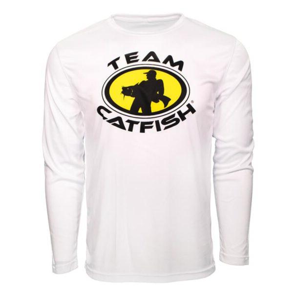 Team Catfish Crewneck Long Sleeve Tee